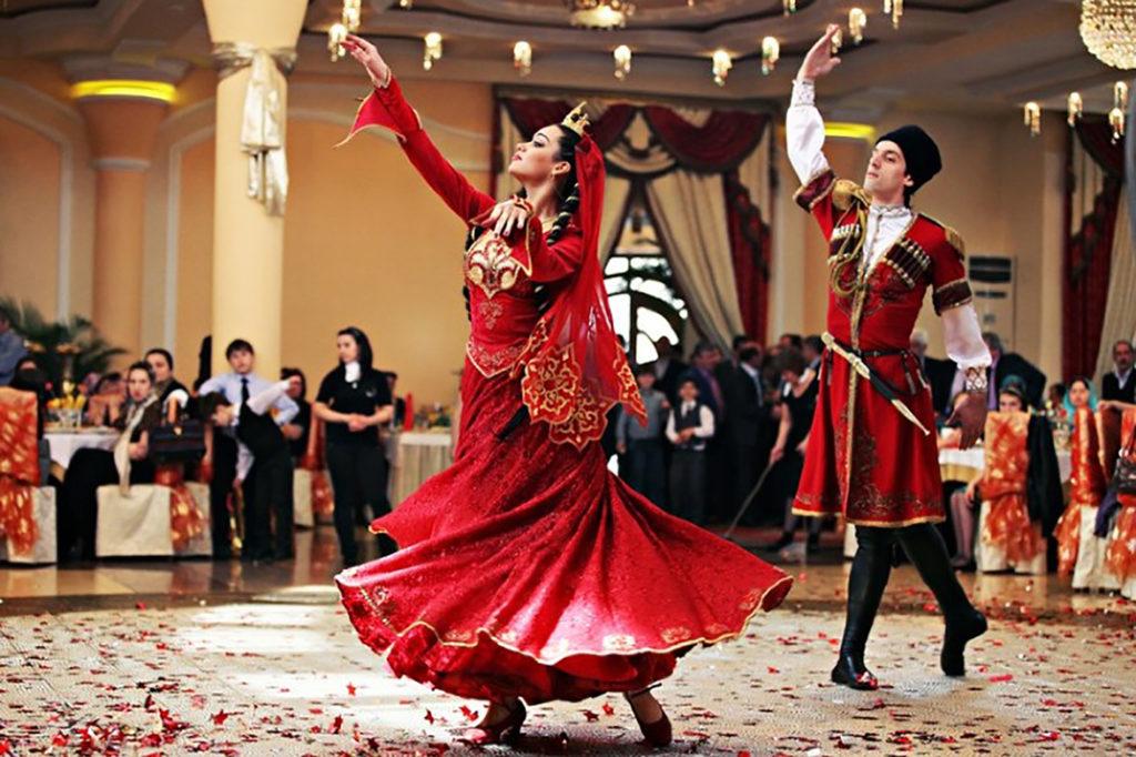 Танец лезгинка